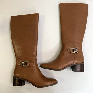 Anne Klein Joetta Womens Boots Brown Size 10M
